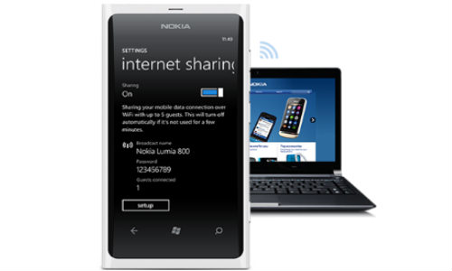 software updation for nokia lumia 800 710 phones