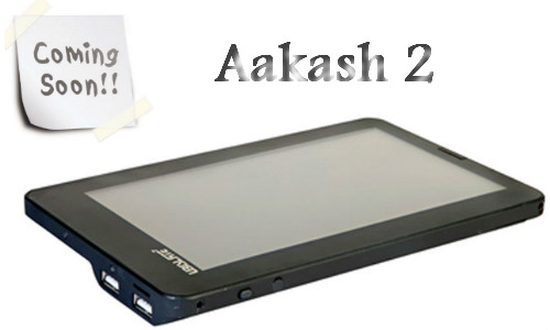 1 lakh aakash 2 tablets to be delivered by this year end