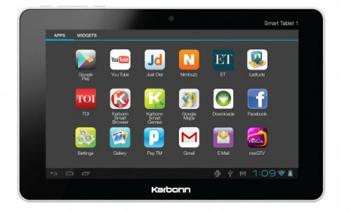 karbonn officially launches smart tab 1 at rs 6990