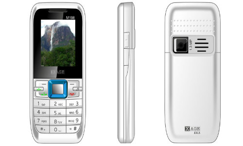 xage launches m198 eka mobile at rs 1349