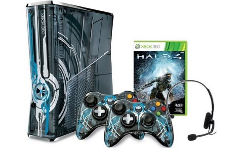 xbox halo 4 special edition bundle out in the market soon