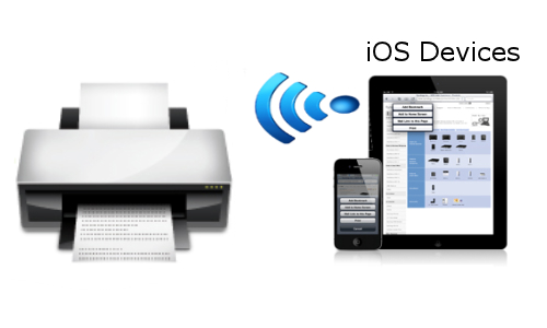How to print wirelessly from your iOS based device?