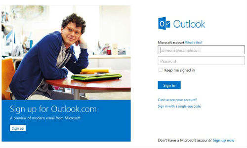Microsoft Relaunches Hotmail as Outlook.com