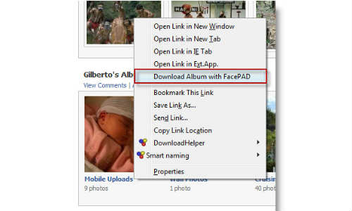 How to Download Facebook Photo Album Easily