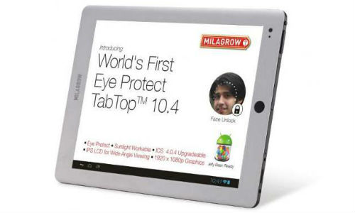 Milagrow launches New Tablet with Tamil Language support
