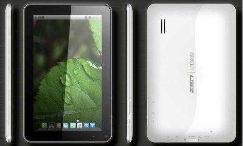 Zen Mobile launches UltraTab A900 with Android 4.0 for Rs. 7,999 | ஆன்ட்ராய்டில் அசத்தும் அல்ட்ராடேப் ஏ-900 டேப்லட்!