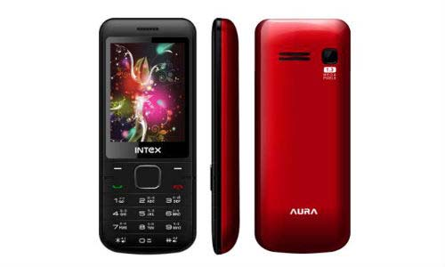 Intex Launches Aura Dual SIM Handset With 1,800 mAh Battery at Rs 1,690 | Intex Launches Aura Dual SIM Handset With 1,800 mAh Battery at Rs 1,690