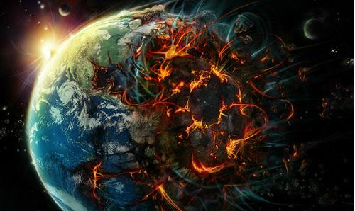 உலகம் அழியும்போது இப்படித்தான் இருக்கும்!