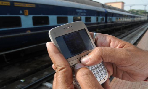 train journey easy through mobile
