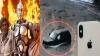 அமெரிக்காவில் எந்திரன் பட காட்சி: ஆற்றில் விழுந்த இளைஞரை காப்பாற்றிய ஐபோன்