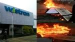 ஐபோன் தயாரிப்பு நிறுவனம் சூறையாடல்: மொத்தம் ரூ.437 கோடி நஷ்டம்-நிறுவனத்தின் அதிர்ச்சி தகவல்!