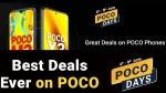 Flipkart POCO Days Sale June 2021:போக்கோ ஸ்மார்ட்போன்களுக்கு அதிரடி விலைகுறைப்பு.!