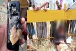 செல்போனை ஹெல்மெட்டுக்குள் வைத்துப் பேசிய இளைஞர்: நேர்ந்த வீபரிதம்-இது நமக்கொரு பாடம்.!