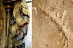 கீழடியில் கிடைத்த அடையாளம் தெரியாத எலும்புப் படிமம் உண்மையில் 'யாழி'யா?