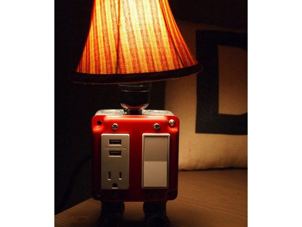 iHome Table Lamp With Charging Dock For iPod, iPhone, and iPad