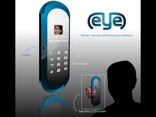 Eye Cellphone