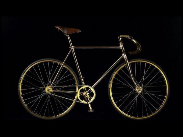 Aurumania Gold Bike: $104,744