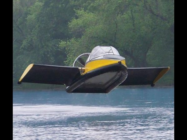 An Actual Hovercraft: $190,000