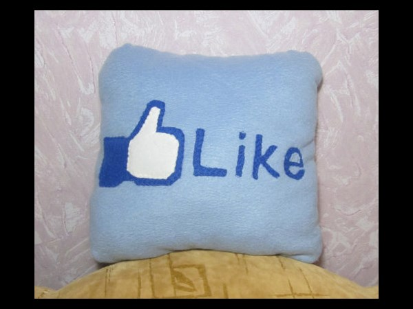 FB Like Button Pillow
