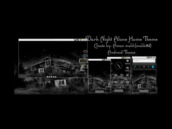12. Dark Night Alone Home Theme