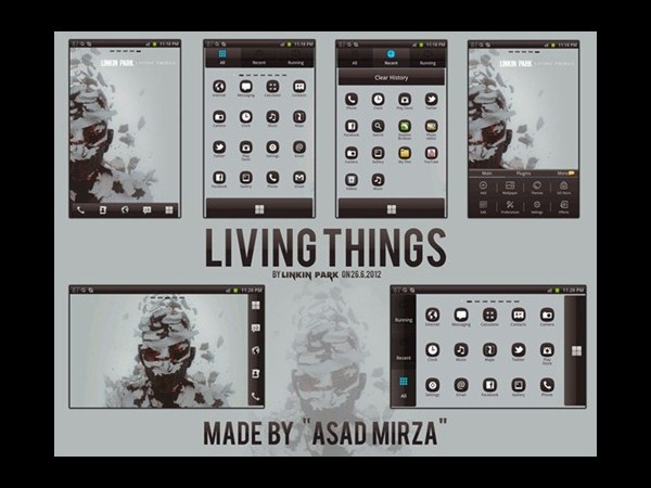 14. Living Things Linkin Park Theme