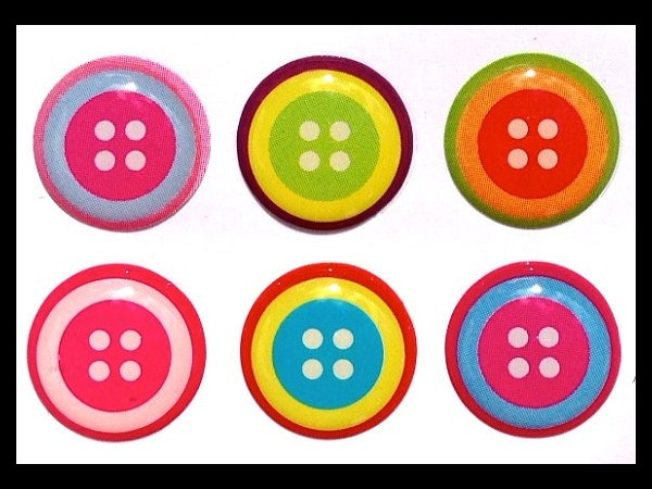 7. Button Stickers
