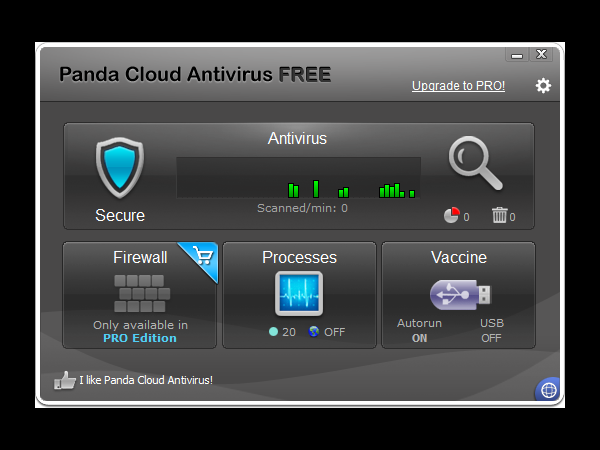 9. Panda Cloud Antivirus