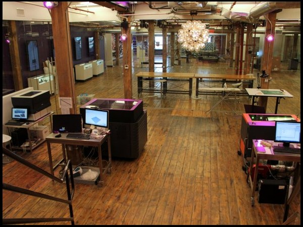 Quirky has a workshop in its office