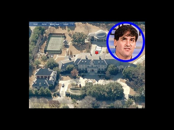 12 Mark Cuban's Dallas estate