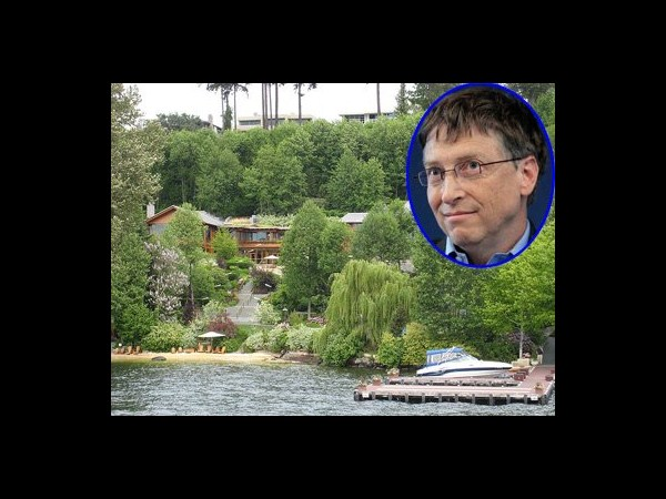 2 Bill Gates' home on Lake Washington: Xanadu 2.0