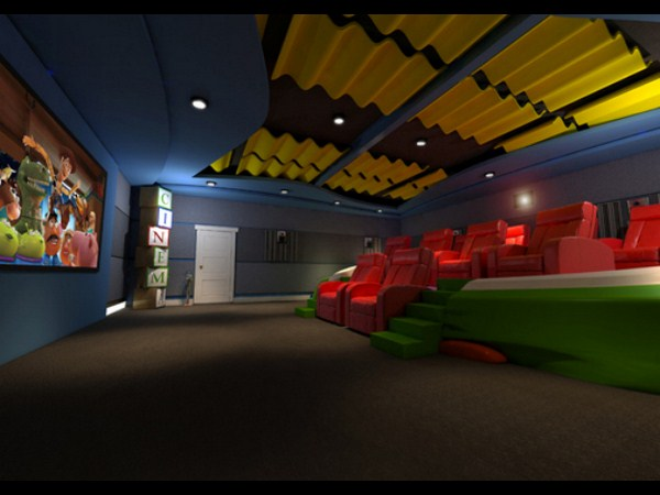 21. Cinematic Playroom