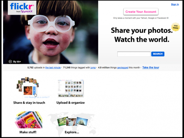 Flickr Now