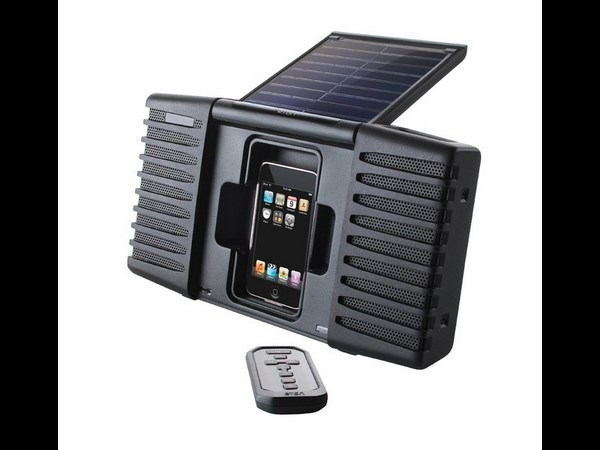 Eton Soulra Solar-Powered Sound System for iPod and iPhone
