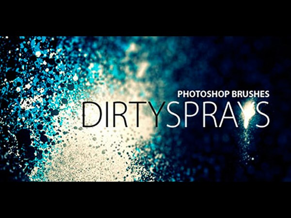 Dirty Spray Brushes