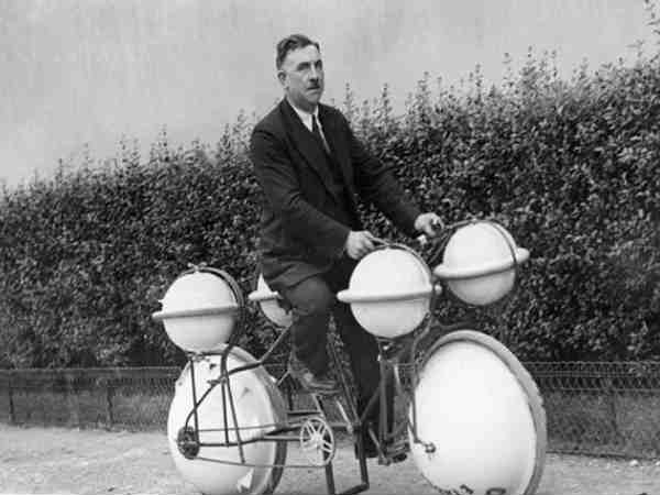 Amphibious Bike 'Cyclomer' (Paris, 1932)