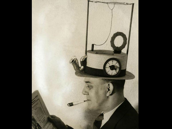 Radio hat (USA, 1931)