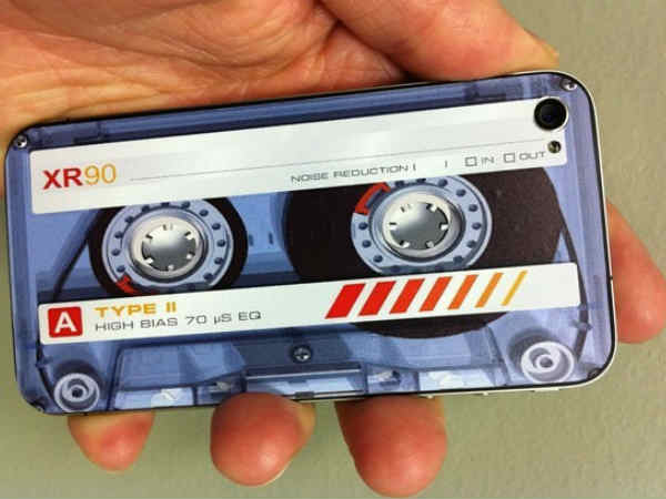 Tape Cassette Decals