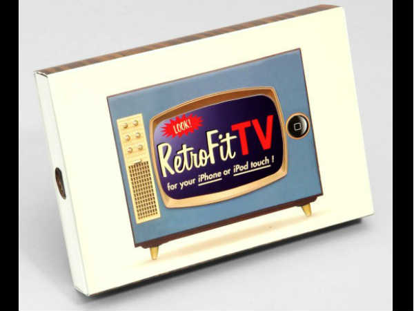 RetroFit TV iPhone Holder