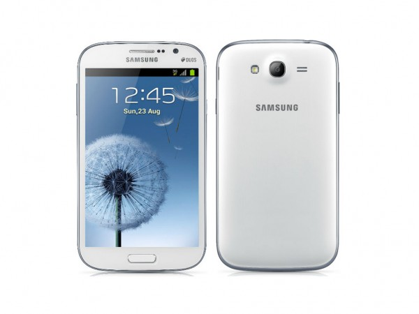 Combo Of Samsung Galaxy Grand Duos I9082 Blue With 8GB Card