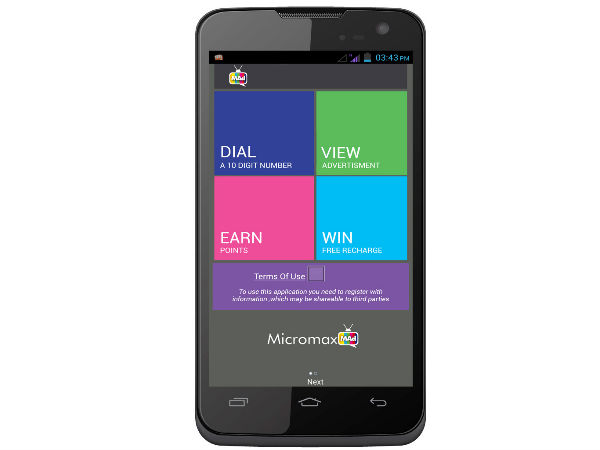 Micromax A94 Canvas Mad