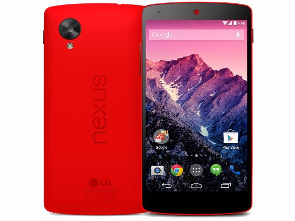 LG Nexus 5: (Weight: 130 grams)