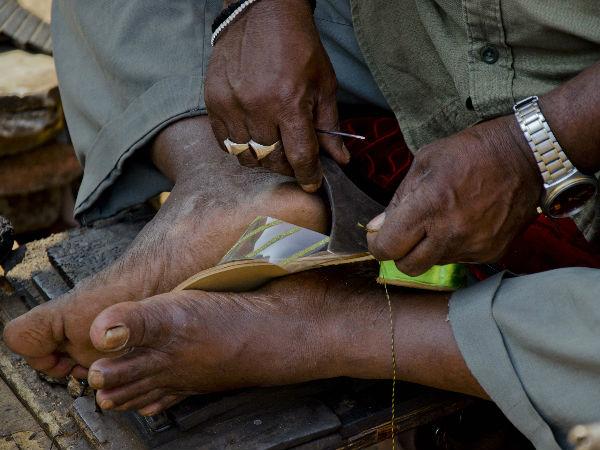 செருப்பு தைக்கும் தொழிலாளியை 'கெளரவப்படுத்திய' அப்துல் கலாம்..!