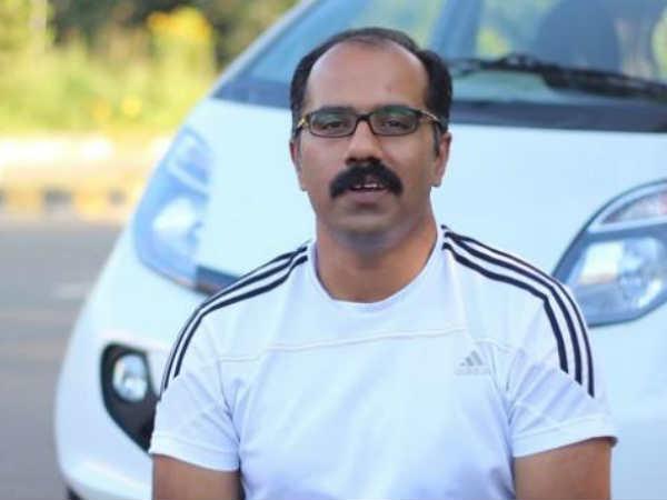 டிரைவர்லெஸ் கார் செய்து அசத்திய இந்தியர்.!!