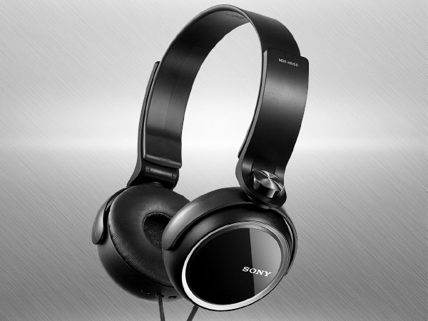 Sony MDRXB250/B On-Ear Headphone (Black)