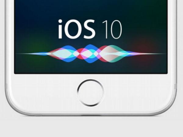 இந்தியர்களின் நண்பனாகும் ஆப்பிள் ஐபோன் ioS 10 Siri.