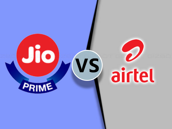 ஜியோ VS ஏர்டெல் : ஒருபக்கம் ரூ.399/- & ரூ.309/- மறுபக்கம் ரூ.349.!