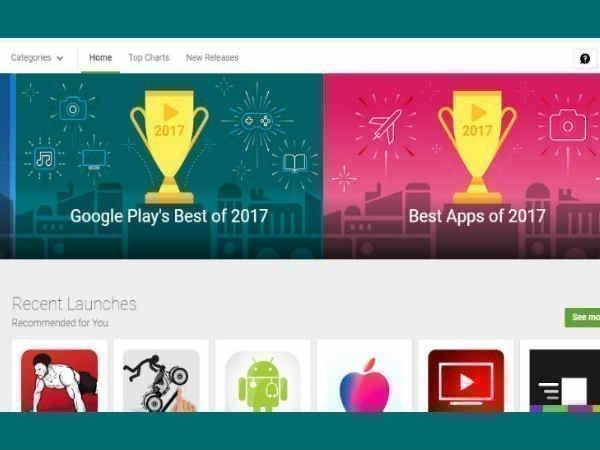 2017 : கூகுள் பிளே ஸ்டோரில் இடம்பெற்றுள்ள பெஸ்ட் ஆஃப் அறிவிப்பு.!