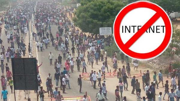 ஸ்டெர்லைட்  போராட்டம்: 3 மாவட்டங்களில் இணையதளம் சேவை முடக்கம்.!