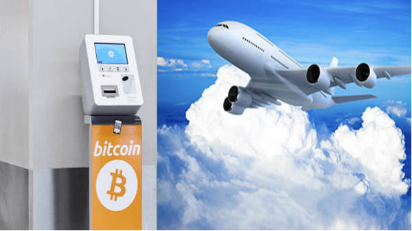 Airports get Bitcoin ATM!
