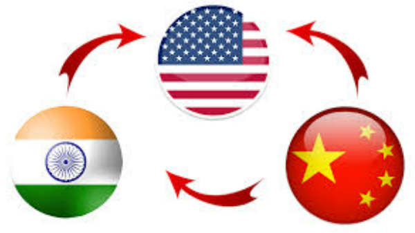 டாப் 2 இடங்களில் இந்தியா, சீனா.!  பறிபோன சோகத்தில் அமெரிக்கா.!